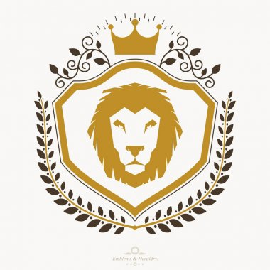 Heraldic Coat of Arms emblem