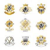 set of Royal Heraldic symbols