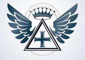 Vintage emblem made