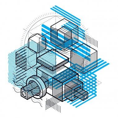 Engineering industrial shape