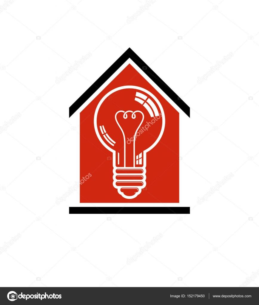 Bau-Idee, sparen Strom zu Hause — Stockvektor © Ostapius #152179450
