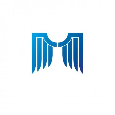 Blue freedom Wings emblem.
