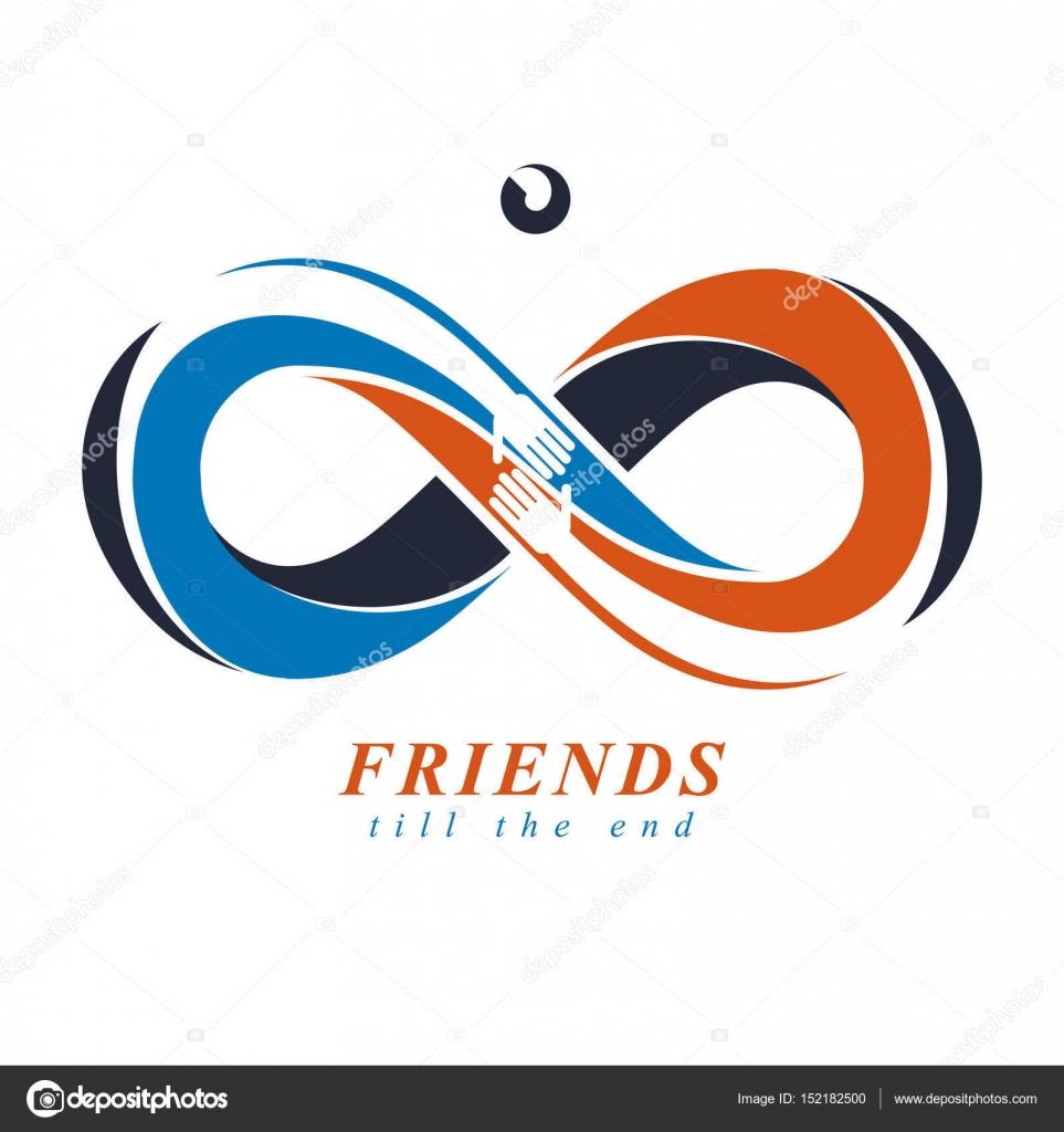 Symbol för evig vänskap