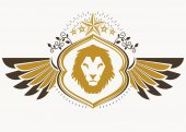 Fotografie Vintage heraldic emblem