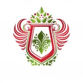 Vintage heraldikai jelkép