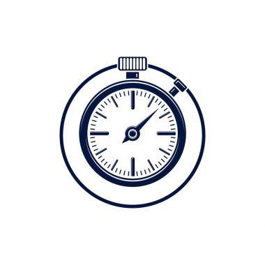 Old-fashioned pocket watch