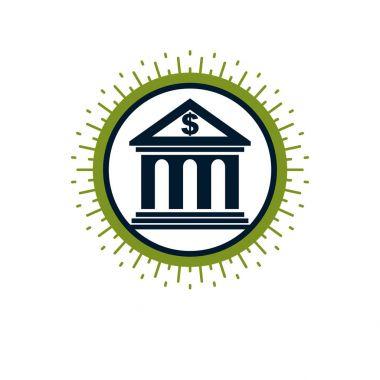 Banking conceptual logo