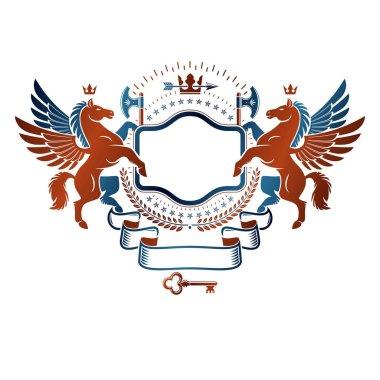Graphic vintage emblem