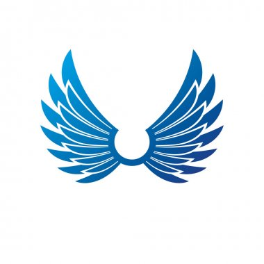 Ancient Symbolic Wings emblem