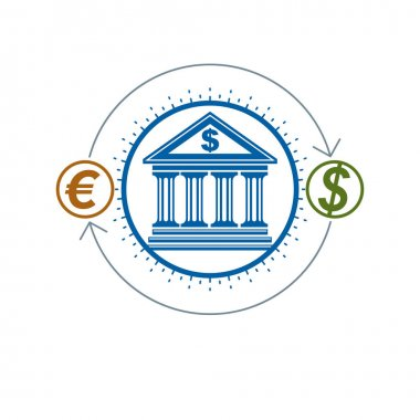 Banking and Finance conceptual logo