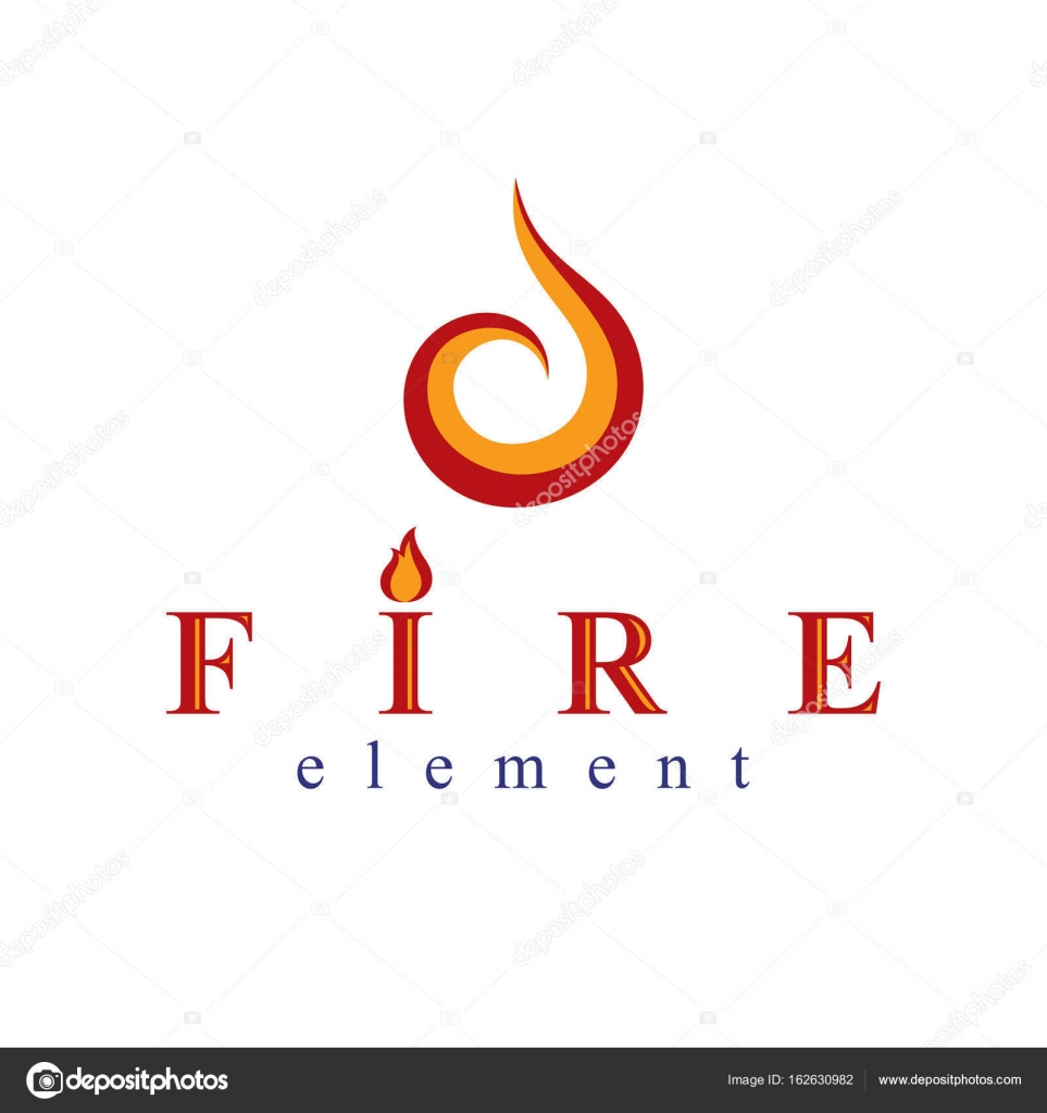 Burning Flame Symbols Stock Vector Ostapius 162630982