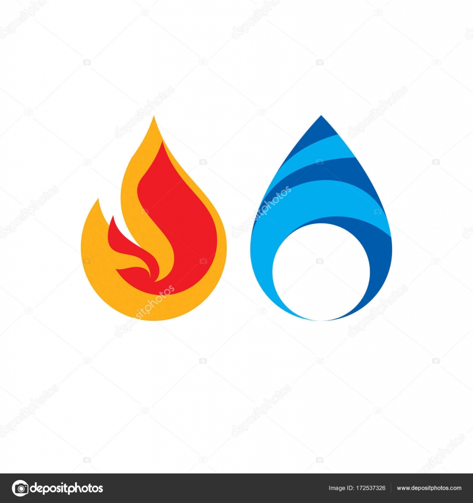 Fire and water logo stock vector ostapius 172537326 fire and water logo stock vector biocorpaavc Choice Image