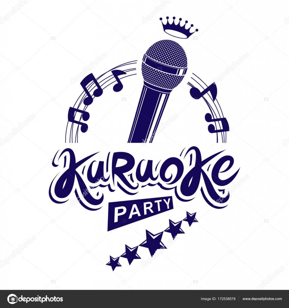 Karaoke party invitation poster stock vector ostapius 172538578 karaoke party invitation poster stock vector stopboris Choice Image