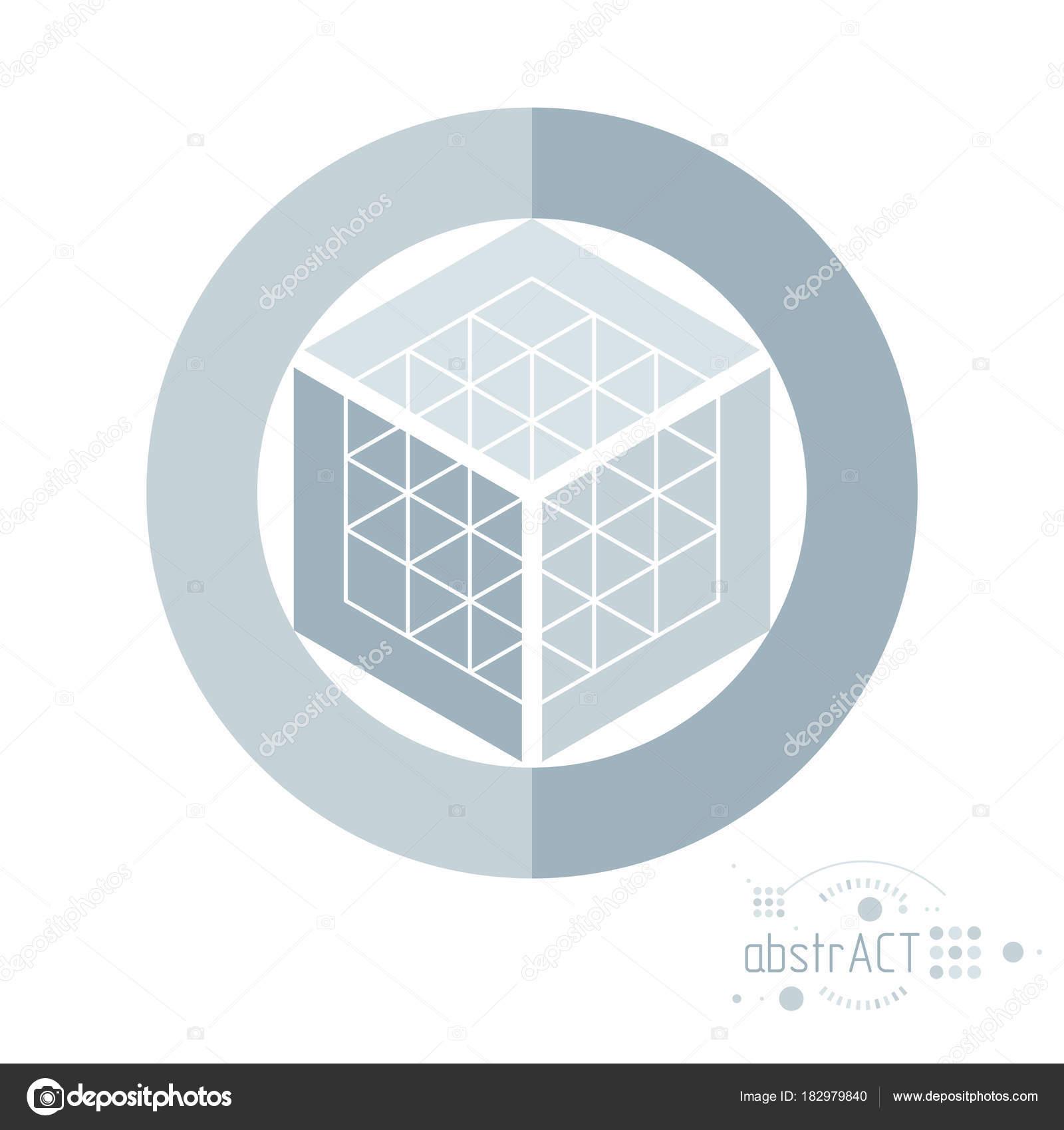 Vectores Modernos Artístico Gráfico Composición Geométrica Puede ...