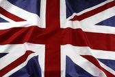 Fotografia Dettaglio della bandiera britannica