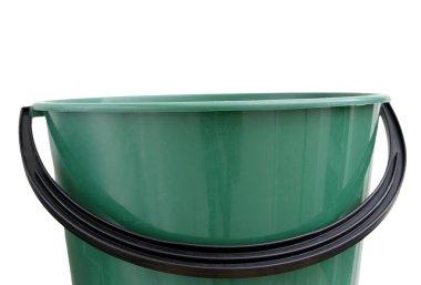 Empty plastic bucket