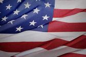 Rippled USA flag