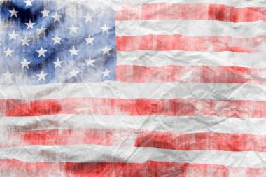 Textured American flag