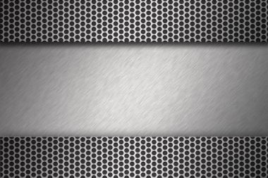 Metal textures background