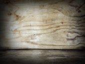 Dřevěná podlaha a stěna
