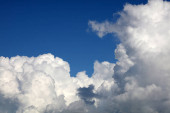 mraky v nebi
