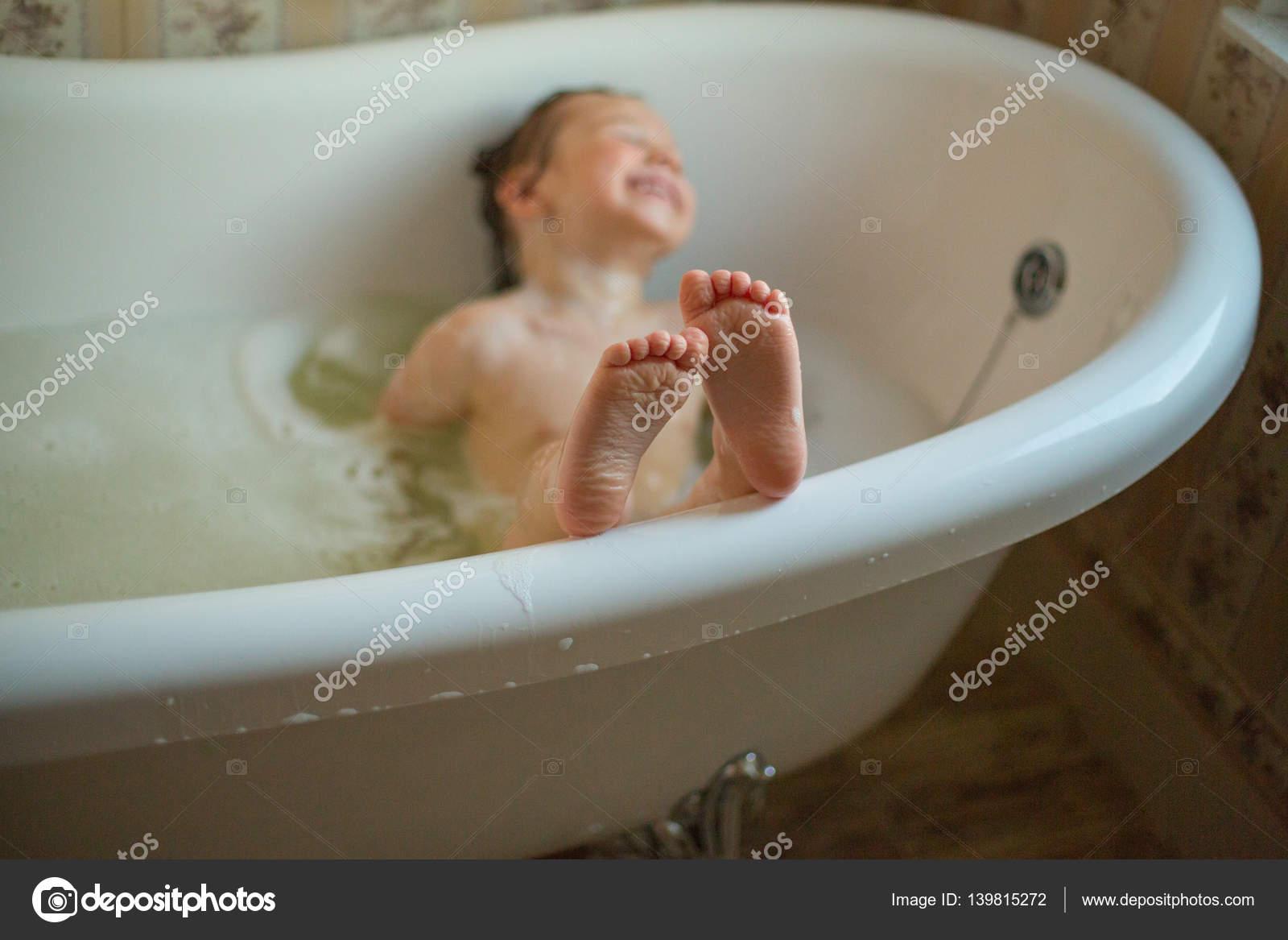 girl having bath — Stock Photo © olena_kosynska #139815272