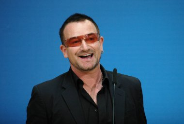 Bono (born Paul David Hewson)