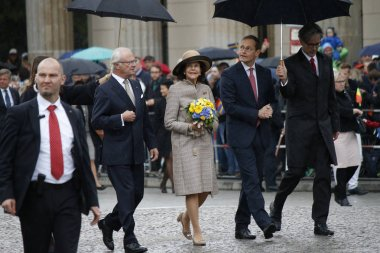 King Carl XVI and Queen Silvia of Swede
