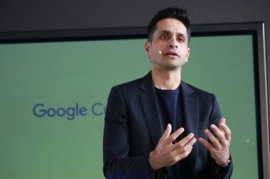 Amit Sood of Google at a presentation