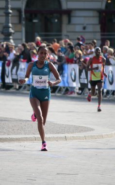 Tirfi Tsegaye (Ethiopia) - 42nd Berlin Marathon, Berlin.