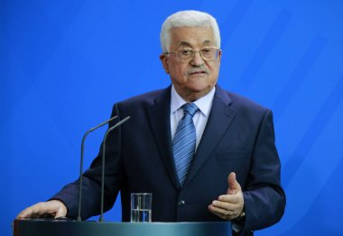 President of the Palestinian National Authority Mahmud Abbas