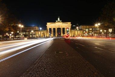 Brandeburg gate at night