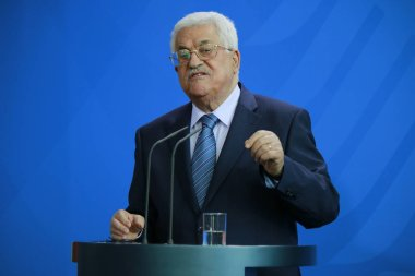President of the Palestinian National Authority Mahmud Abbas