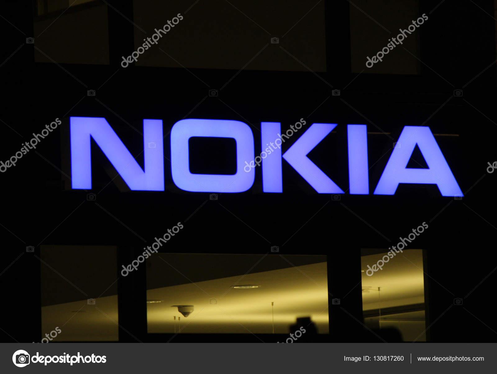 Logo Of The Brand Nokia Berlin Stock Editorial Photo C 360ber
