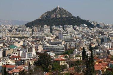 skyline of the Greek capital