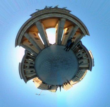 Circle Panorama of the Brandenburg Gate