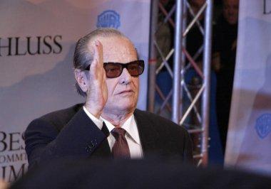 Jack Nicholson at the German premiere