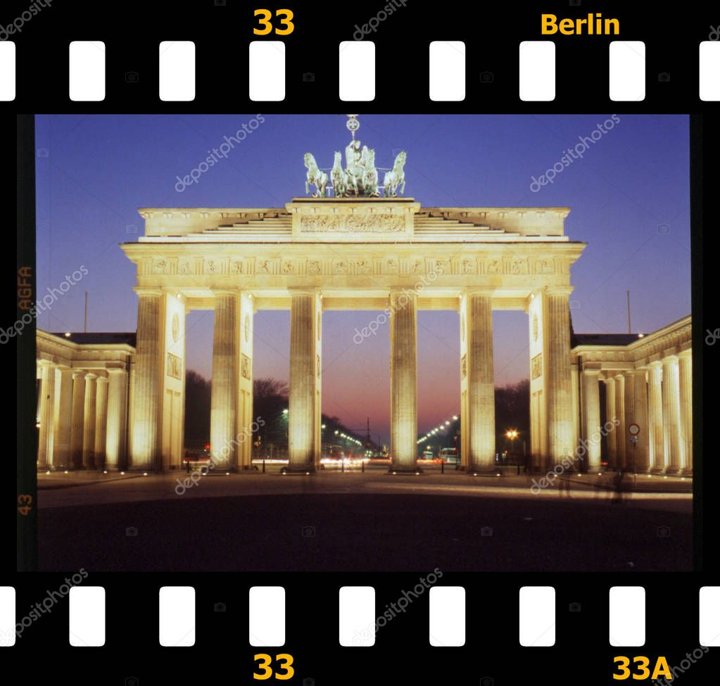 Quadriga, Brandenburg Gate in Berli