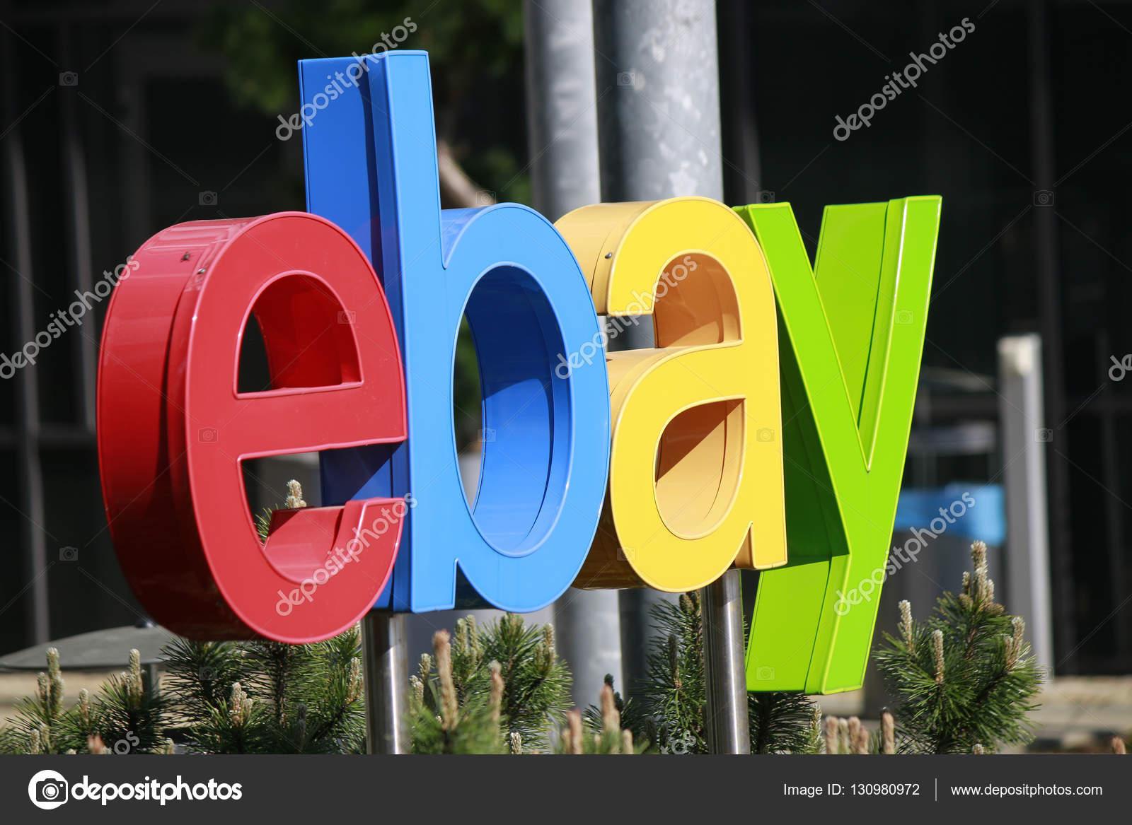 Logo Of The Brand Ebay Stock Editorial Photo 360ber 130980972