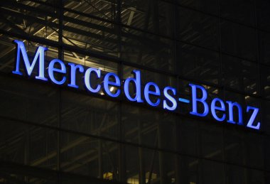 Logo of Mercedes- Benz brand
