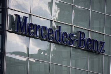 Logo of Mercedes- Benz brand
