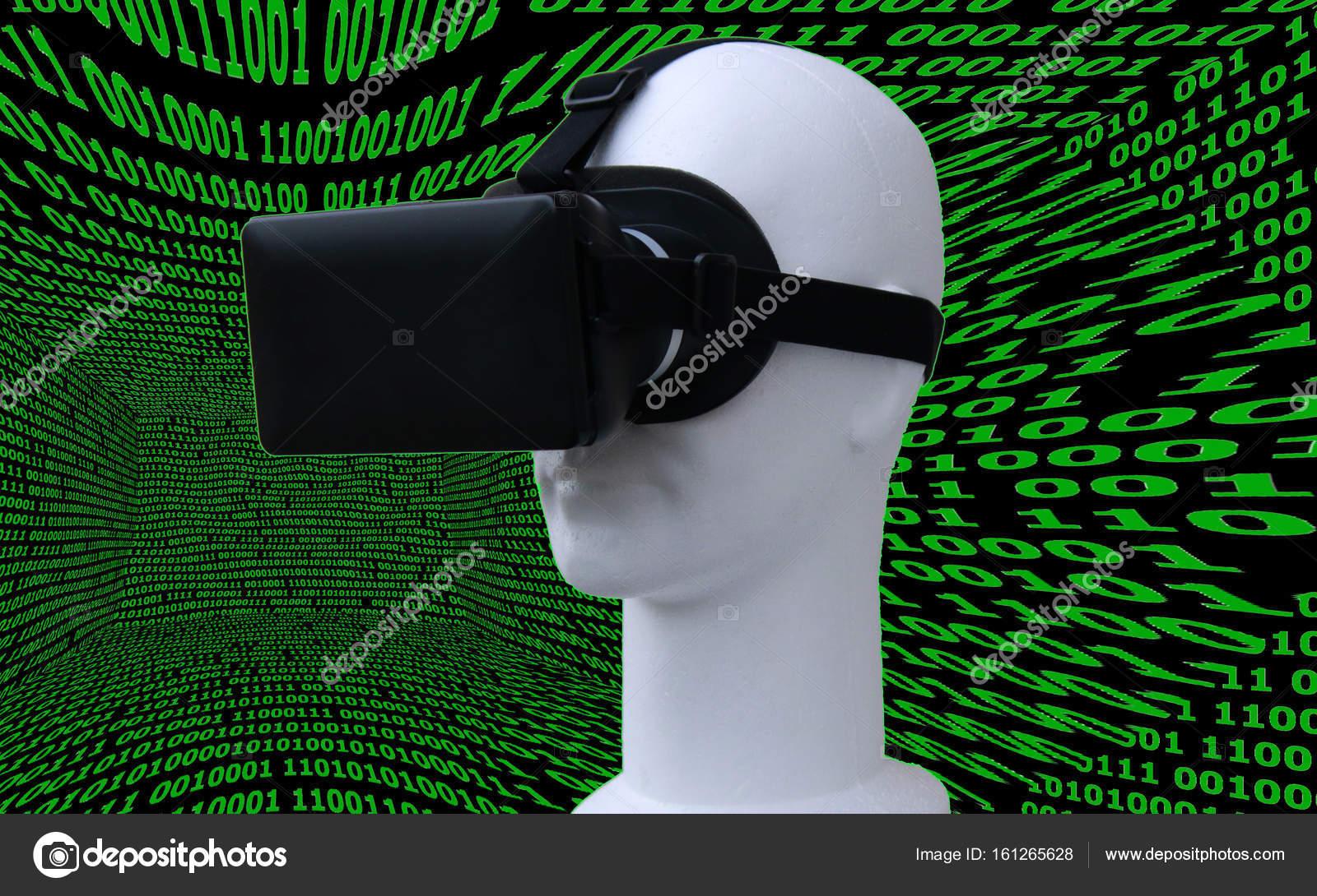 Virtual-Reality-Daten-frame — Stockfoto © 360ber #161265628