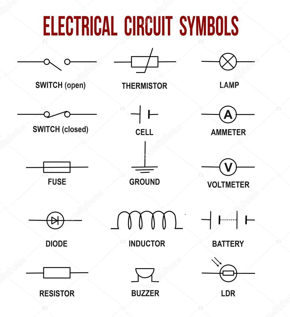 Fein Elektrische Definitionen Und Symbole Zeitgenössisch - Der ...
