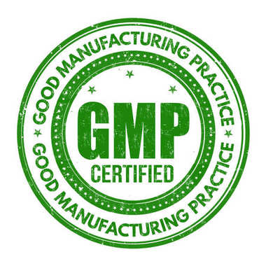 Good Manufacturing Practice ( GMP ) sign or stamp