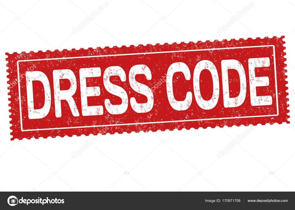 Dress-Code-Zeichen oder Stempel — Stockvektor © roxanabalint #170971708