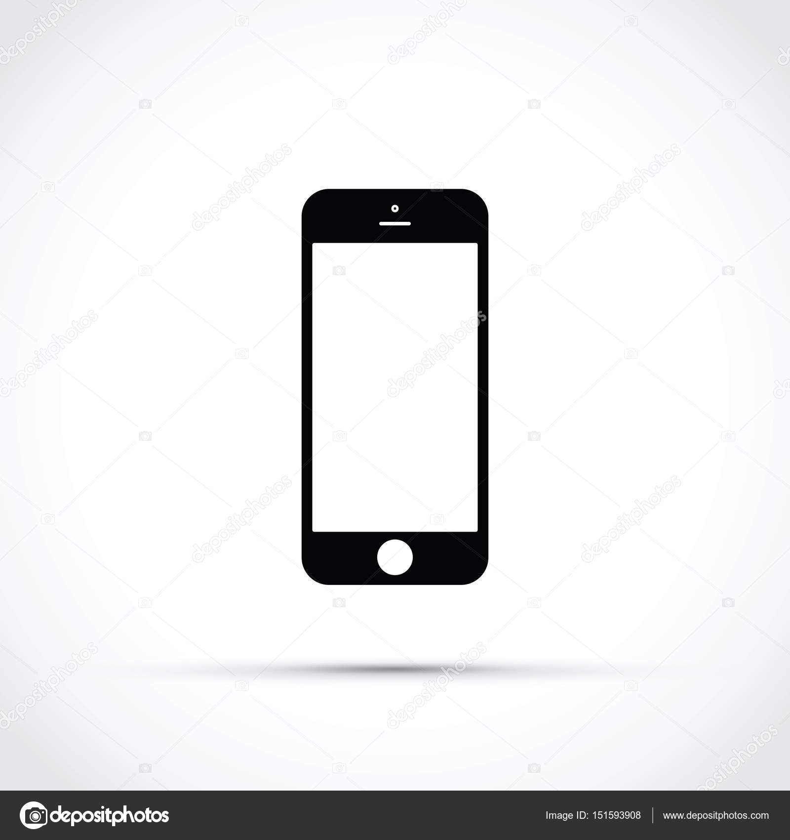 Cell Phone Icon >> Mobile Phone Cell Phone Icon Stock Vector C Jameschipper