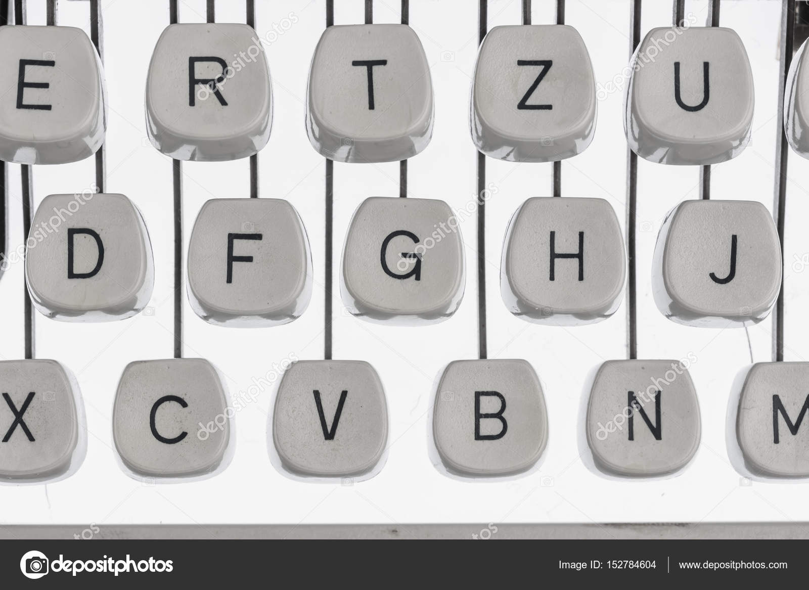A Typewriter Keyboard Stock Photo Ginasanders 152784604