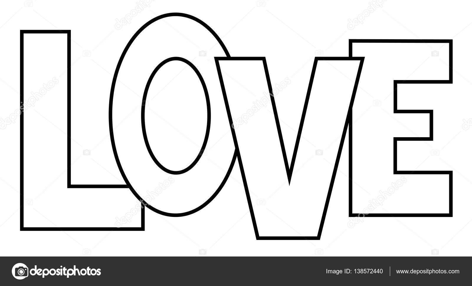 Malvorlagen Liebe — Stockvektor © keeweegirl #138572440