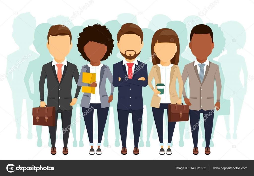 Dibujos: Grupos De Trabajadores