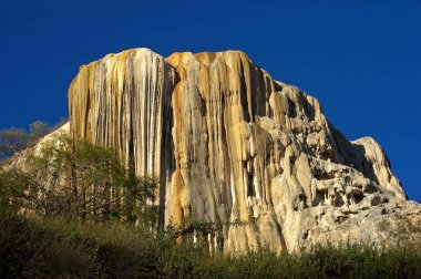 Petrified waterfalls in Mexico